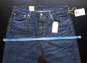размер мужских джинсов
