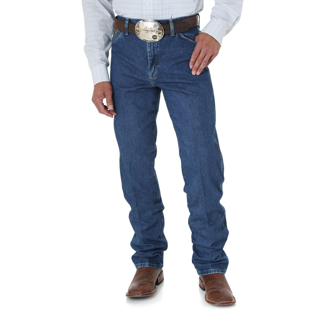 Джинсы Wrangler Original Fit - Heavyweight Stone Denim